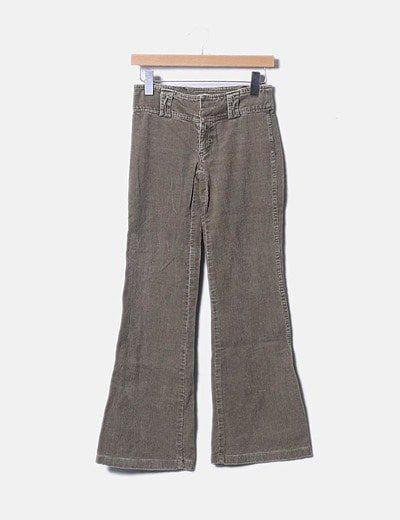Calças retas Zara