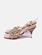 Sandálias de tacão Prada