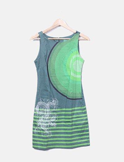 Vestido pichi verde