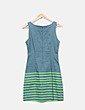 Vestido pichi verde Desigual
