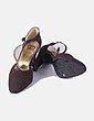 Zapato de tacón marrón NoName