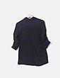 Camisa fluida negra con strass Suiteblanco