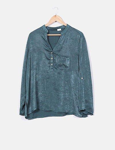Blusa Falcata Textil