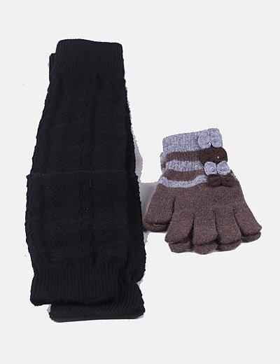 Pack guantes y calentadores