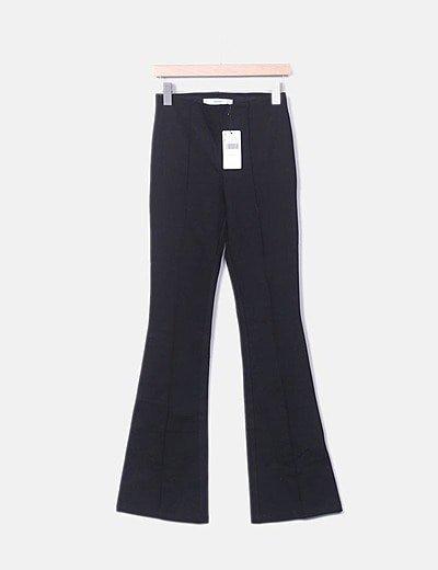 Pantalon patte d'éléphant Mango
