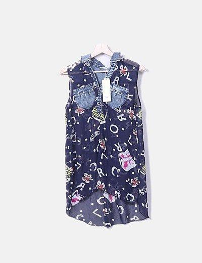 Louis Six blouse