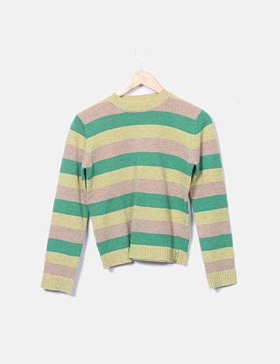 Jersey verde rayas