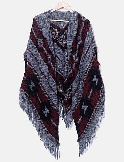 Chaleco étnico tricot