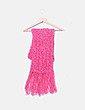 Bufanda tricot rosa NoName