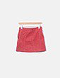 Mini falda pana roja Forever 21