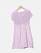 Vestido rosa palo abalorios NoName