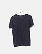 Camiseta negra print en voyage NoName