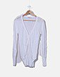 Camiseta blanca tricot Easy Wear