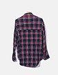 Camisa de gasa con cuadros ONLY