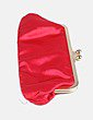 Clutch rojo acolchado NoName