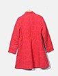 Abrigo rojo girasoles Desigual