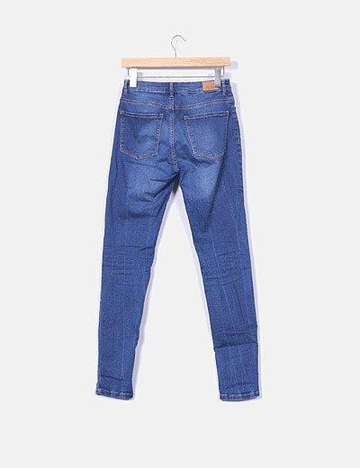 Bershka Jeans Tiro Alto Descuento 69 Micolet