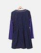 Vestido azul marinocombinado Zen Spirit