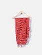 Foulard texturizado teja NoName