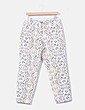 Pantalón chino beige estampado Adolfo Dominguez