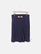 Falda azul con plisado Easy Wear