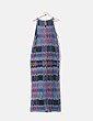 Vestido de tirantes multicolor wmn
