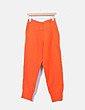 Pantalón jogger naranja Adidas