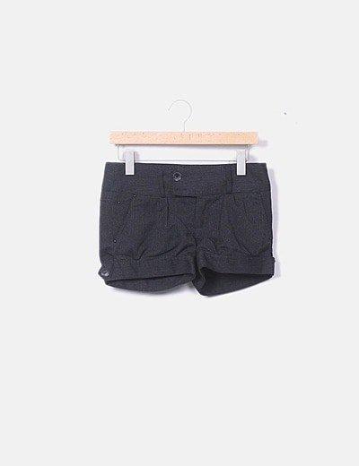 Short tricot negro
