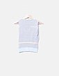 Top tricot rayas azul celeste Tintoretto