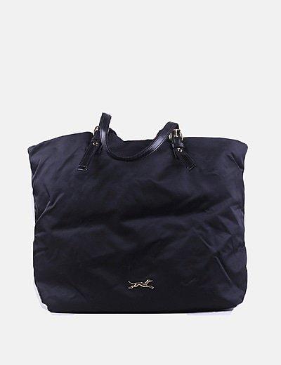 Bolso negro shopper