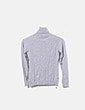 Jersey tricot gris cuello vuelto Hoss Intropia