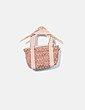 Bolso marrón con logotipo El Caballo