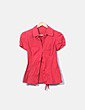 Camisa roja manga corta NoName