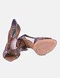Sandálias de tacão Bottega Veneta
