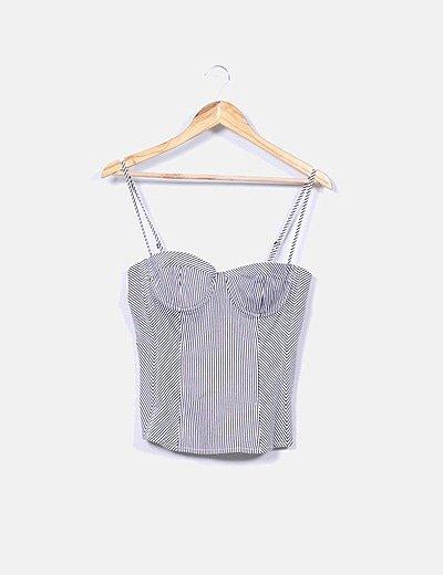 Topshop corset