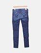 Jeans denim azul marino Hollister