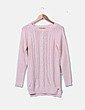 Jersey tricot rosa Stradivarius