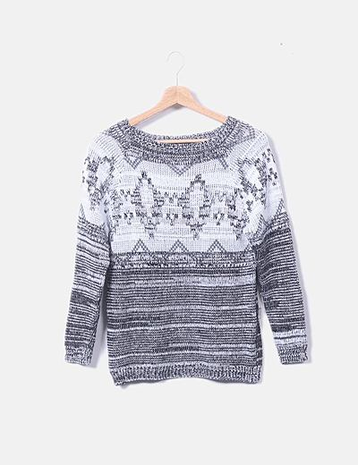 Jersey tricot con rombos