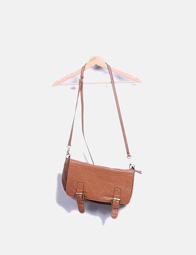 Bolso camel satchel