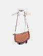 Bolso camel satchel Misako