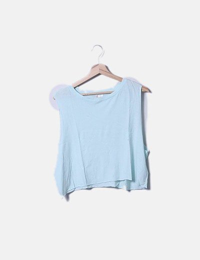 Crop top sisa verde mint