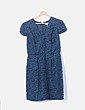 Vestido azul floral Hoss Intropia