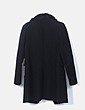 Chaquetón negro con pelo Zara