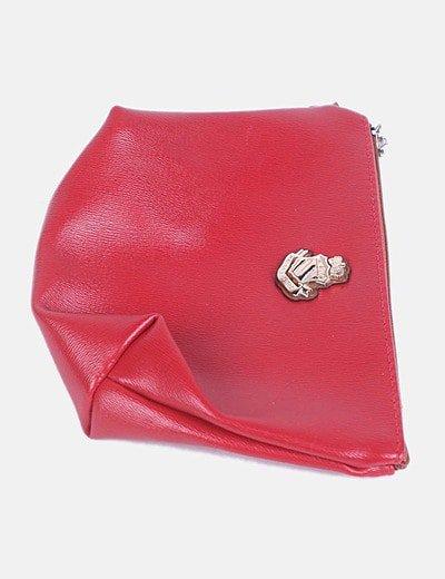 Clutch mini rojo