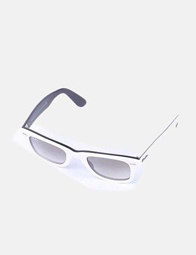 gafas de sol ray ban blancas