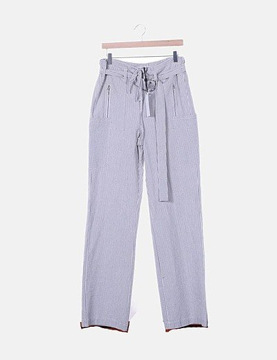 Hoss Intropia straight trousers