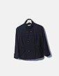 Chaquetón paño negro Easy Wear