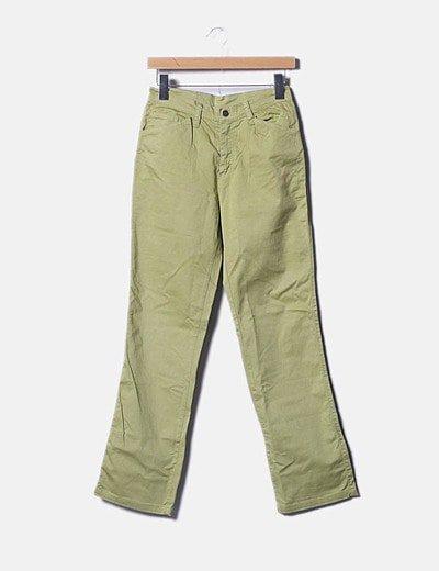 Pantalón verde de loneta