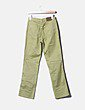 Pantalón verde de loneta Cortefiel