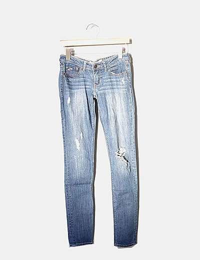 Pantalons slim Hollister